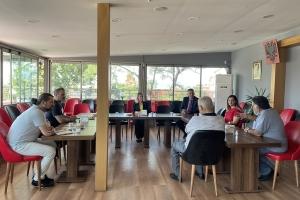 Kosova Cumhuriyeti'nin Ankara Büyükelçiliği Konsolos'u Sayın Sherife Shala Derneğimize Ziyarette Bulundu.